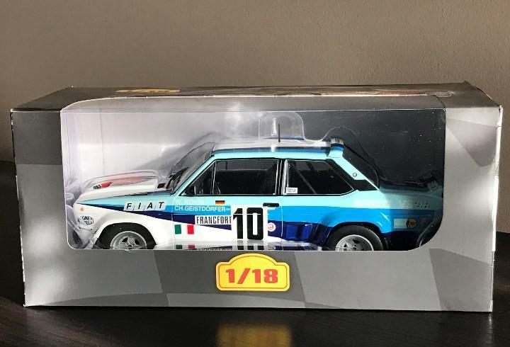 Fiat 131 abarth - 1980 - w. röhrl - rally rallye altaya ixo