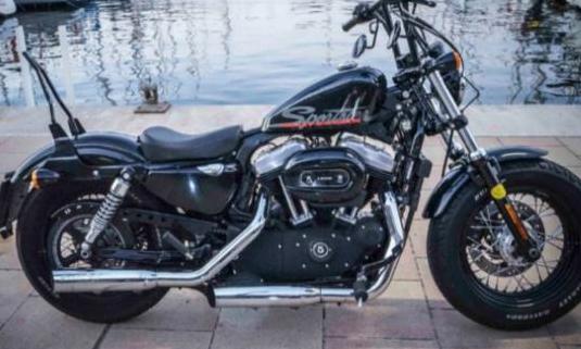 Harley davidson sportster forty-eight (modelo act