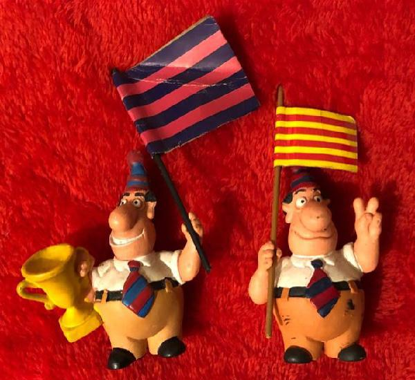 Jordi cule lote 2 figuritas pvc años 90