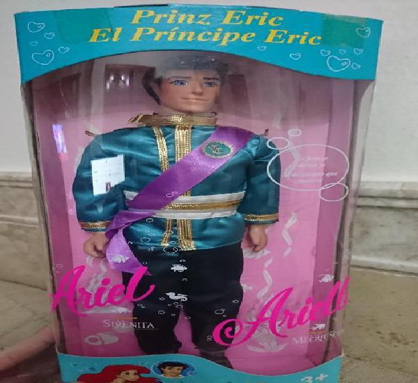 Joya unica coleccionistas muñeco principe eric novio de