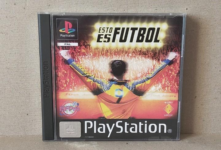 Juego videojuego playstation ps1 - psx pal - esto es futbol