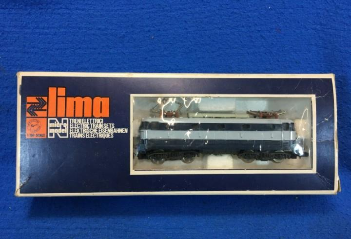 Lima e444 001 - tartaruga - locomotore per treno scala n con