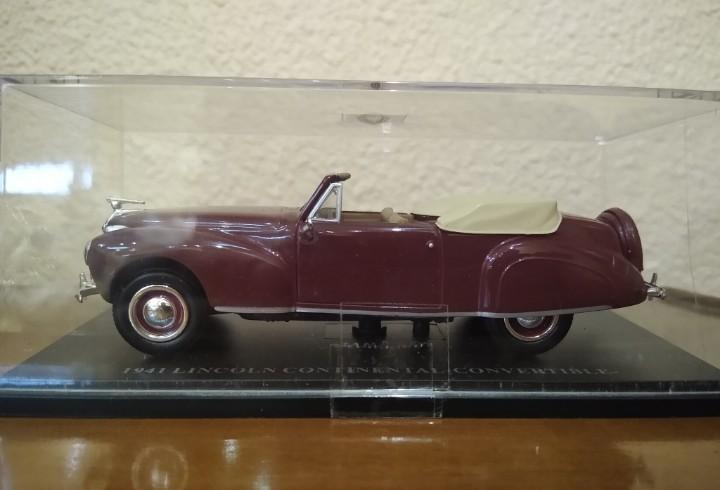 Lincoln continental convertible 1941 universal hobbies. 1