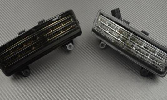 Luz de freno led con intermitentes integrados ...