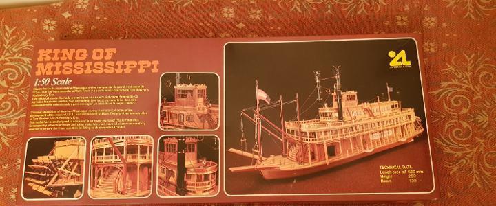 Maqueta barco king of mississppi escala 1:50 ref.504