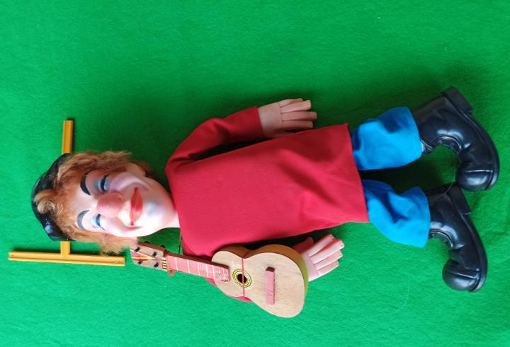 Marioneta de fofito los payaso de la tele murlys juguetes