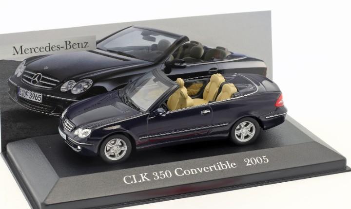 Mercedes benz clk 350 convertible (2005) altaya escala 1/43