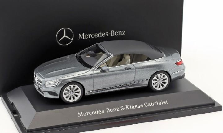 Mercedes benz klasse s cabriolet kyosho escala 1/43