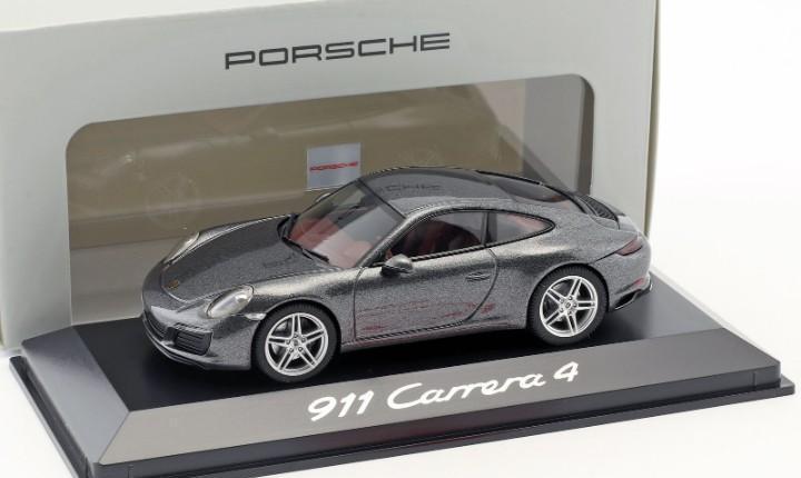 Porsche 911 carrera 4 minichamps escala 1/43