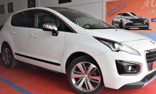 Peugeot 3008 allure 2.0 hdi 160 fap automatico 5p.