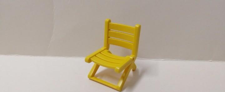 Playmobil silla plegable amarilla oeste ciudad casa moderna