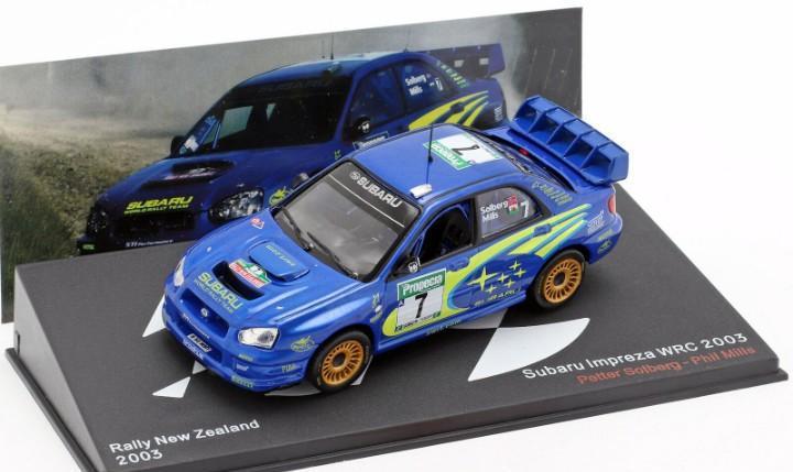 Subaru impreza wrc (2003) altaya escala 1/43