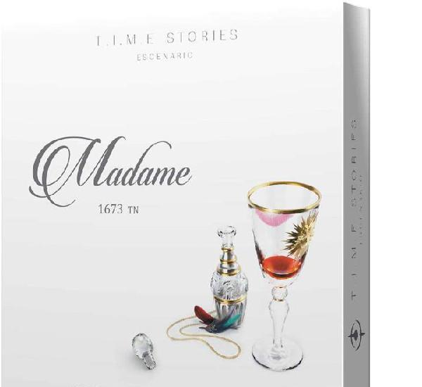 T.i.m.e. stories exp.: madame - juego de mesa - nuevo
