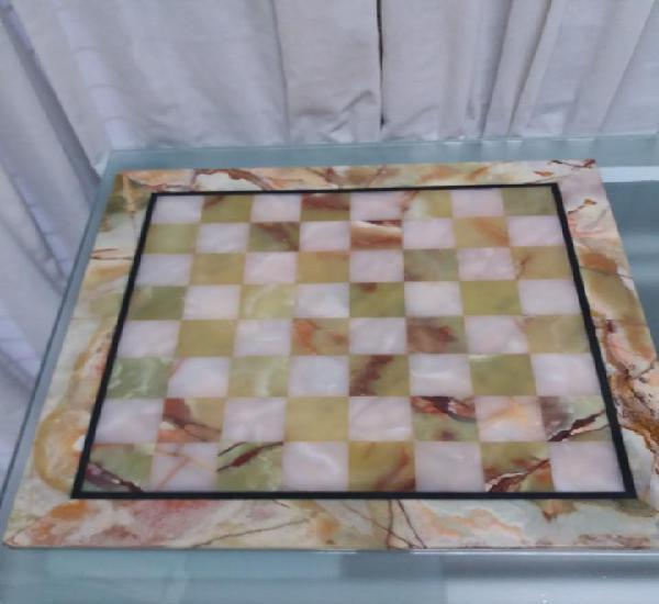 Tablero ajedrez en onix 45x45 cm