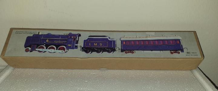 Tren ms440 de hojalata con caja juguete