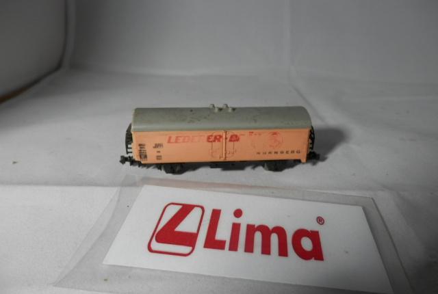 Vagón cerrado escala n de lima