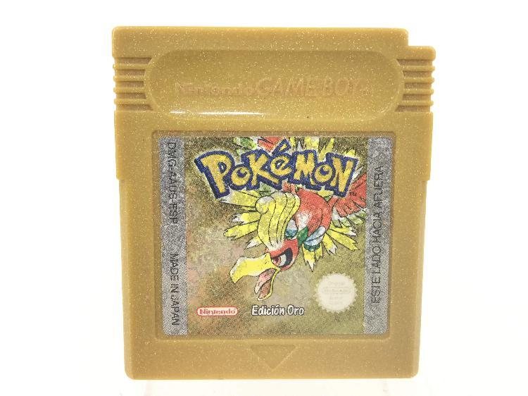 Accesorio gameboy nintendo pokemon oro