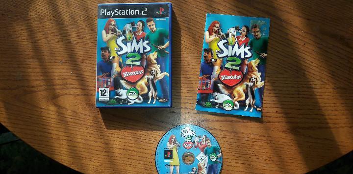Juego play 2 los sims 2 mascotas
