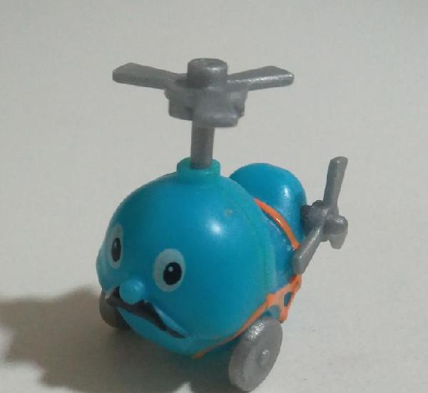 Kinder montable helicoptero vehiculo antiguo