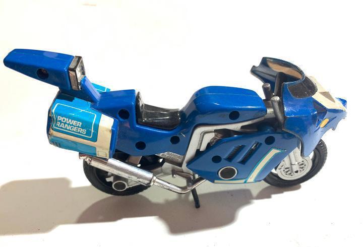 Moto de los power rangers triceratops battle bike bandai