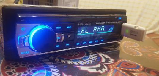 Radio universal para vehiculos bluetooth usb manos