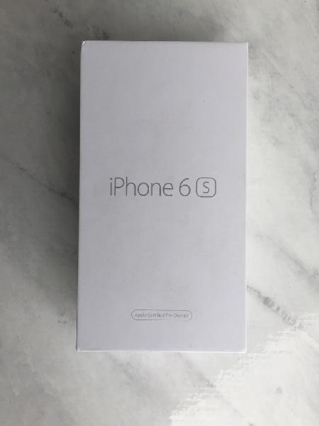 Apple iphone 6s 16gb gris espacial