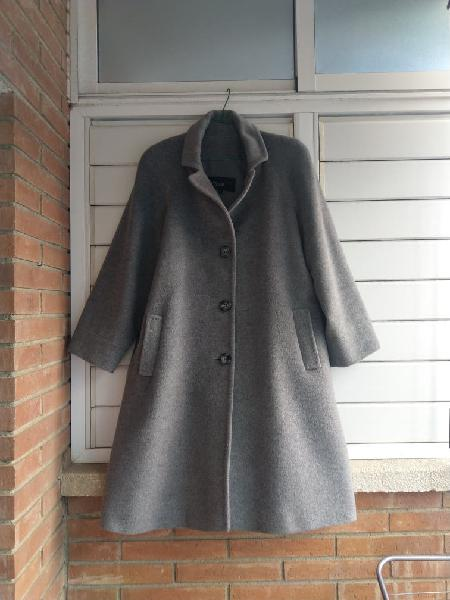 Abrigo lana angora xl