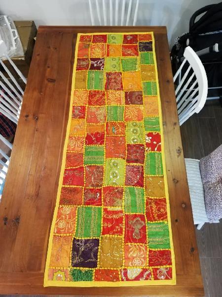 Camino de mesa/plaid cama oriental