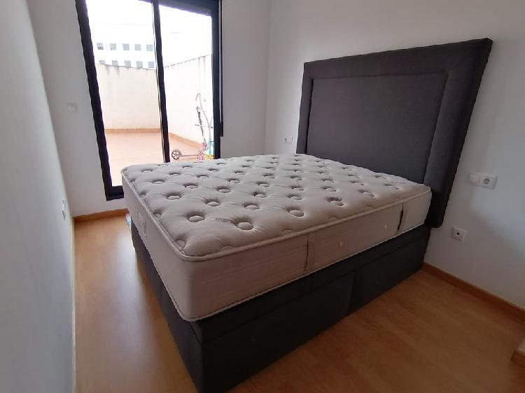 Canape con cabezal y colchón flex (150x190)