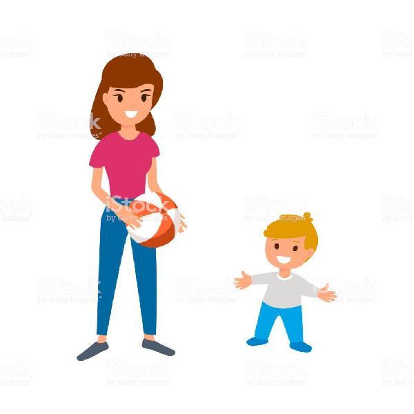 Cuidado de niños o dar clases