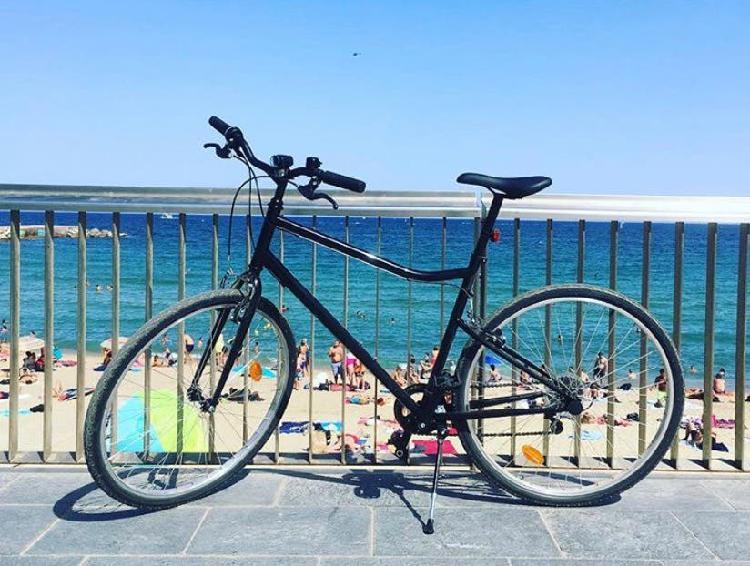 Decathlon bicicleta trekking