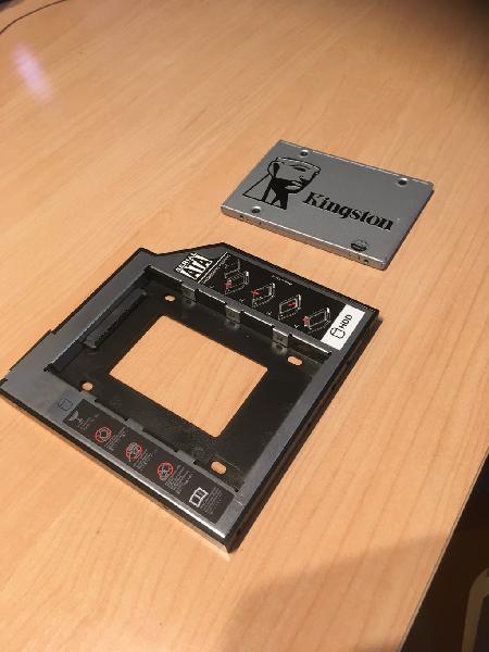 Disco duro kingston ssd 120 gb c/ adaptador sata