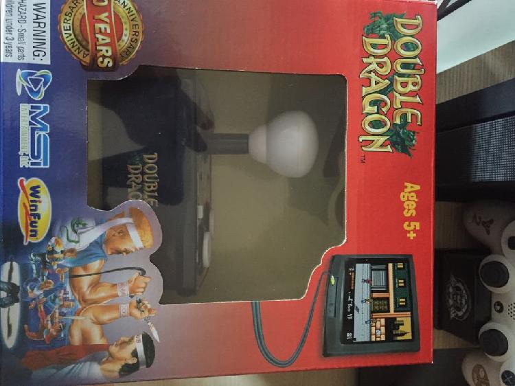 Double dragón mando arcade conexión av