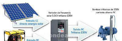 Energía solar. instalaciones solares para el campo - riego