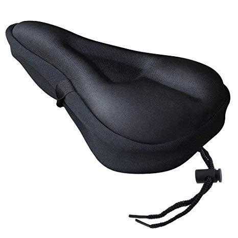 Funda de gel para el sillín de la bici