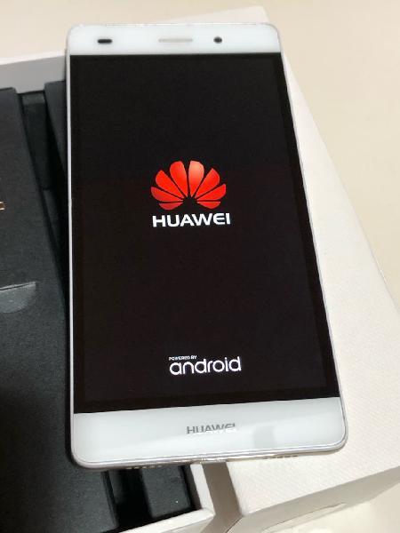 Huawei p8 lite dorado y blanco