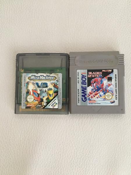 Juegos game boy y game boy color