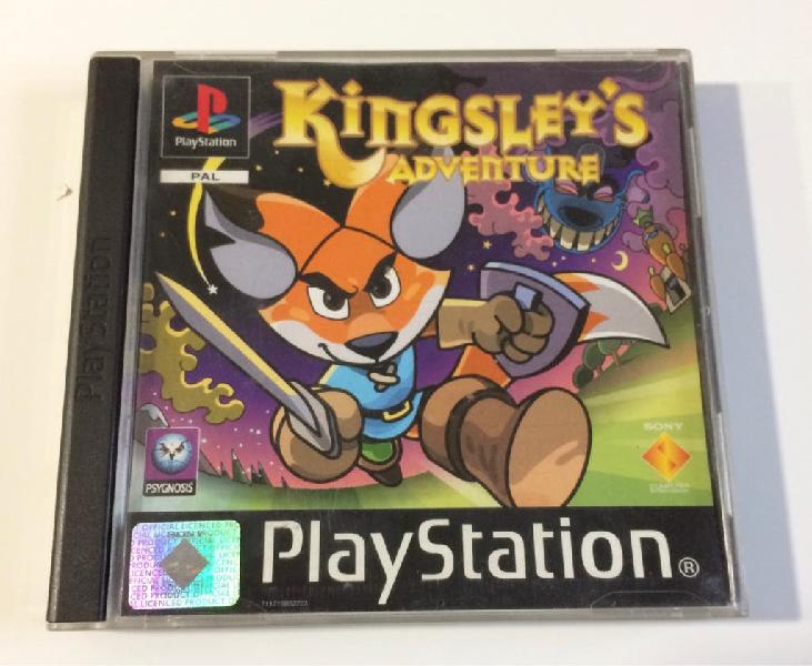 Kingsley's playstation ps1 ps one ps 2 ps 3