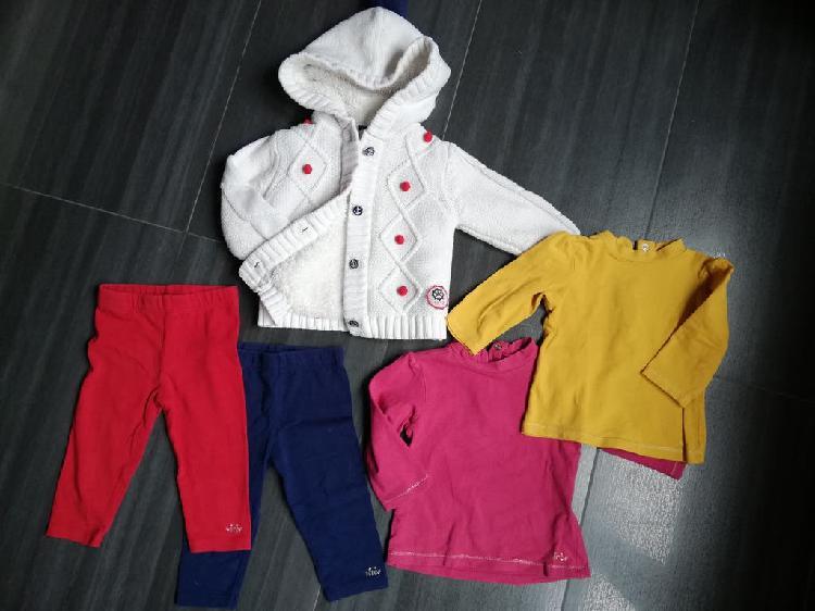 Lote 9 meses bebe niña ropa