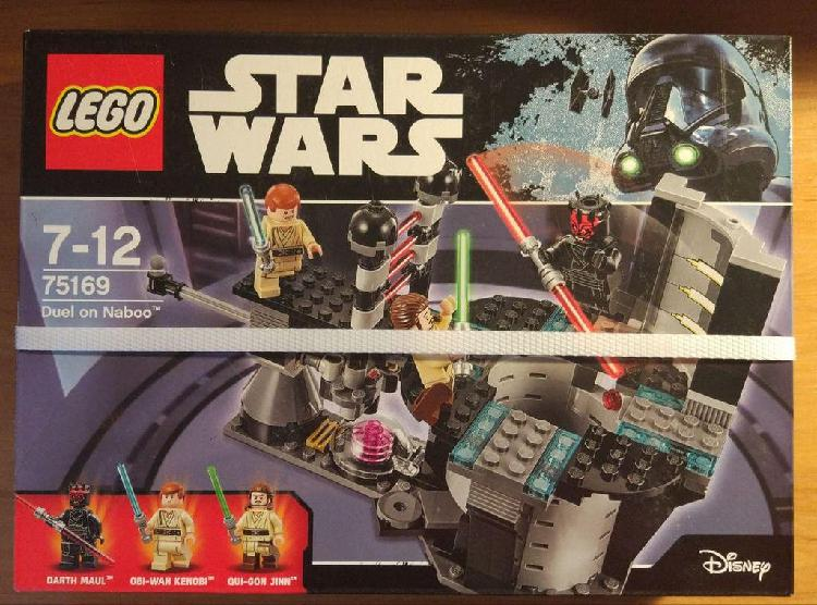 Lego star wars 75169 duelo en naboo nuevo