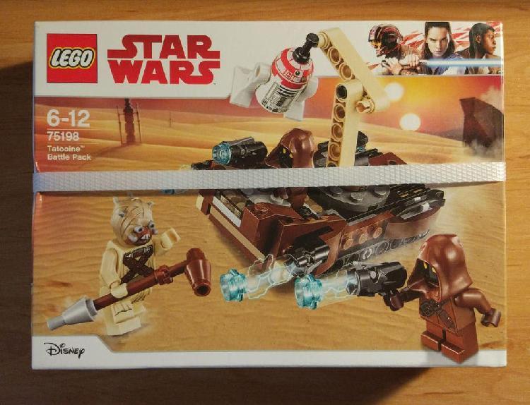 Lego star wars 75198 pack de batalla tatooine