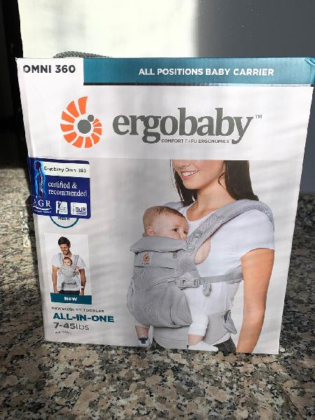 Mochila porta bebes ergobaby omni 360 nueva!