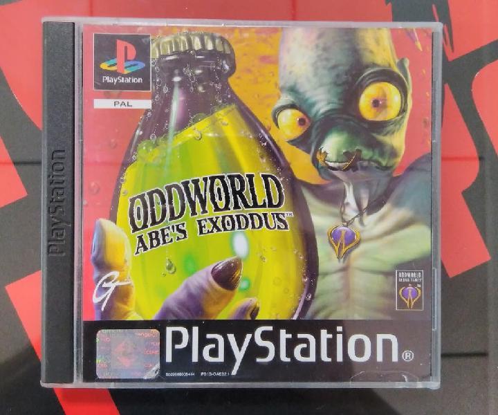 Sony playstation oddworld abe's exoddus pal españa