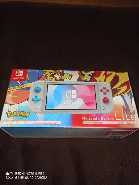 Switch lite edición pokemon impecable y garantia