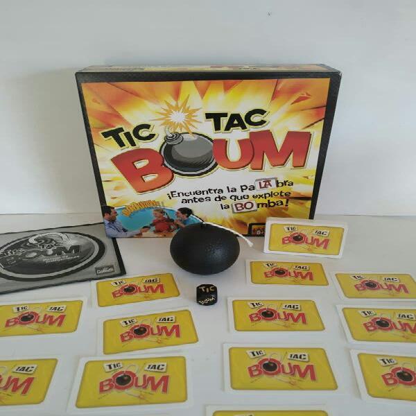 Tic tac boum! juego de mesa familiar y muy diverti