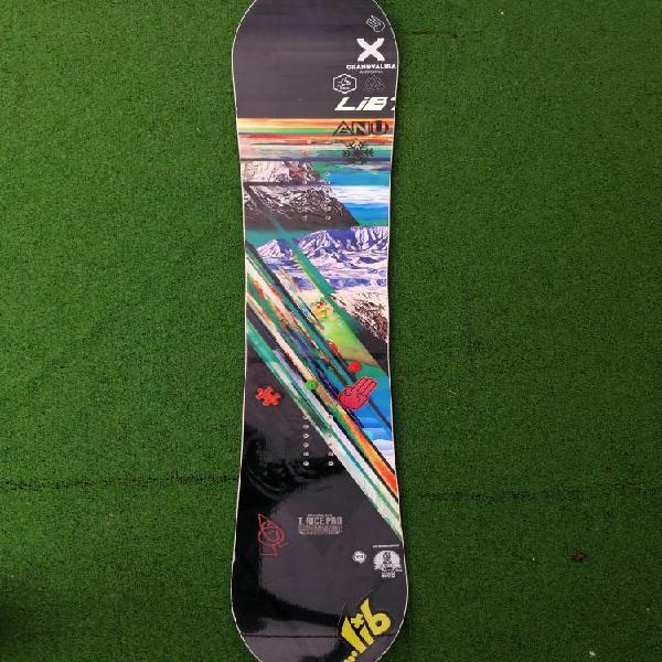 Tabla snowboard lib tech travis rice pro 2017.