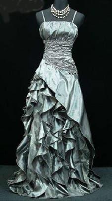 Vestido fiesta boda + complementos