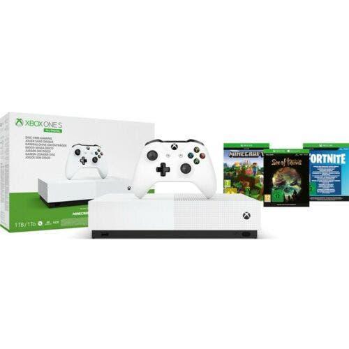 Xbox one s all digital con 3 juegos