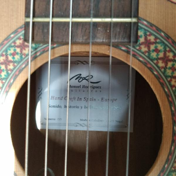 Guitarra española manuel rodríguez c11 caballero