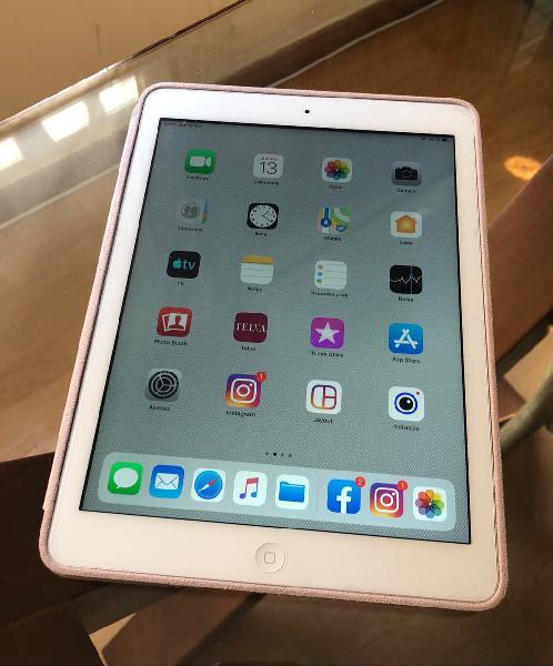 Ipad air 16g wifi blanco plata